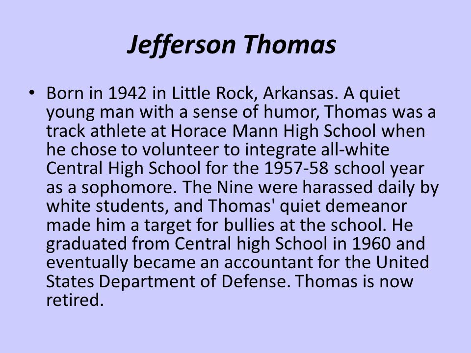 Jefferson Thomas