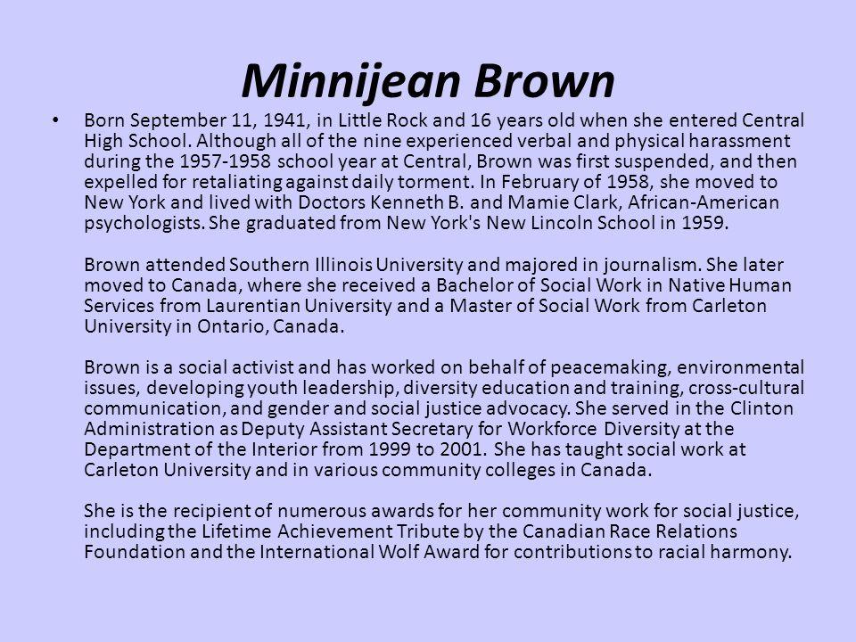 Minnijean Brown