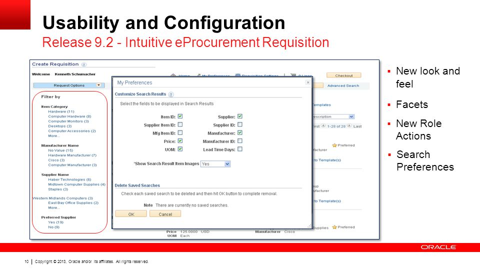 Usability and Configuration