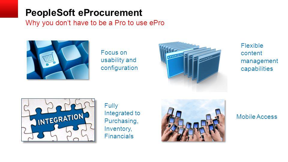 PeopleSoft eProcurement