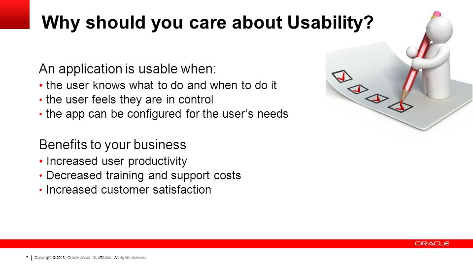 Why should you care about Usability
