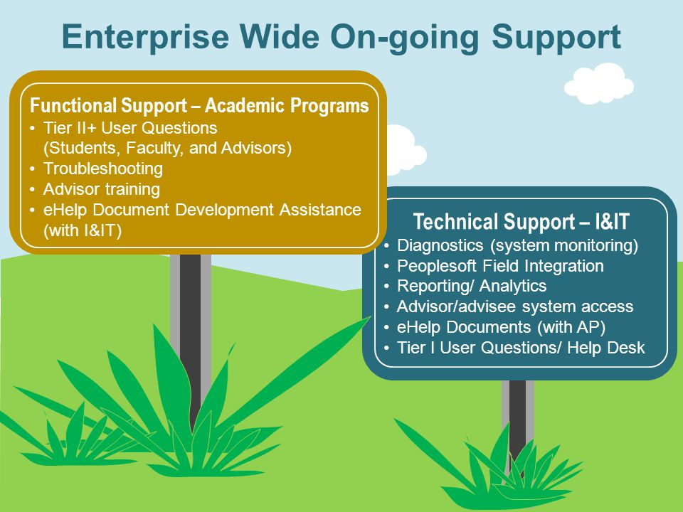 Enterprise Wide On-going Support
