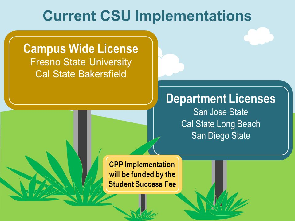 Current CSU Implementations