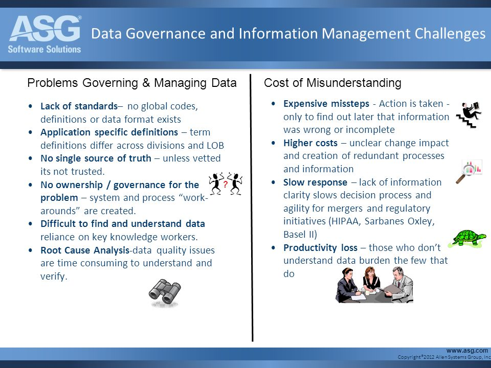 Data Governance and Information Management Challenges