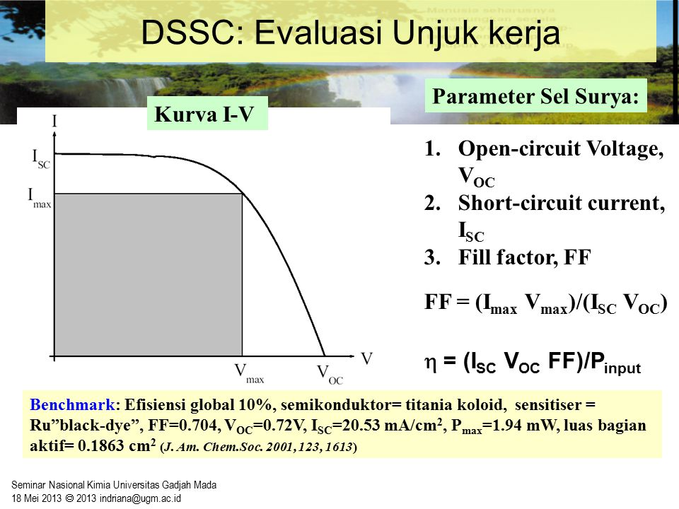 DSSC: Evaluasi Unjuk kerja