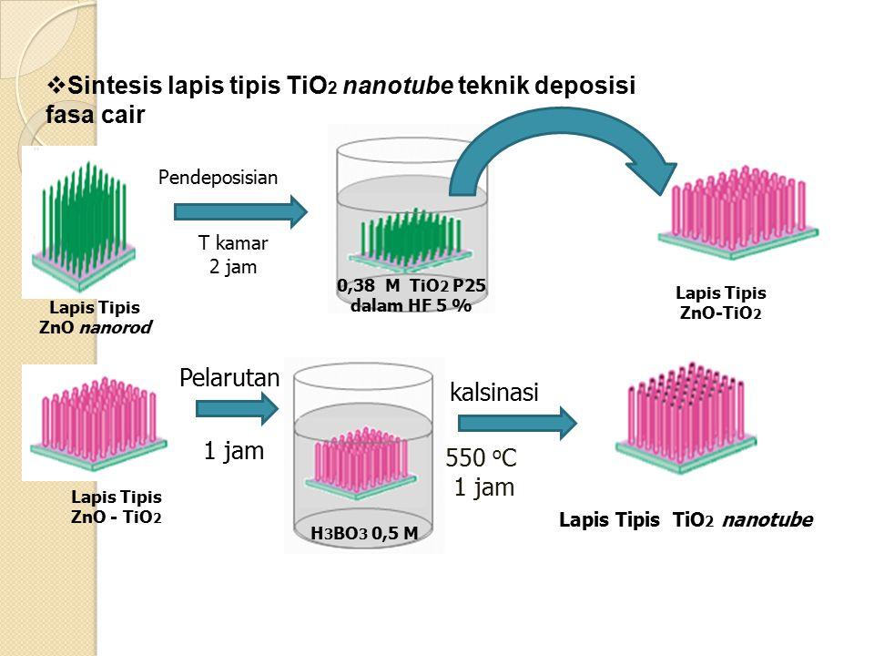 Lapis Tipis TiO2 nanotube
