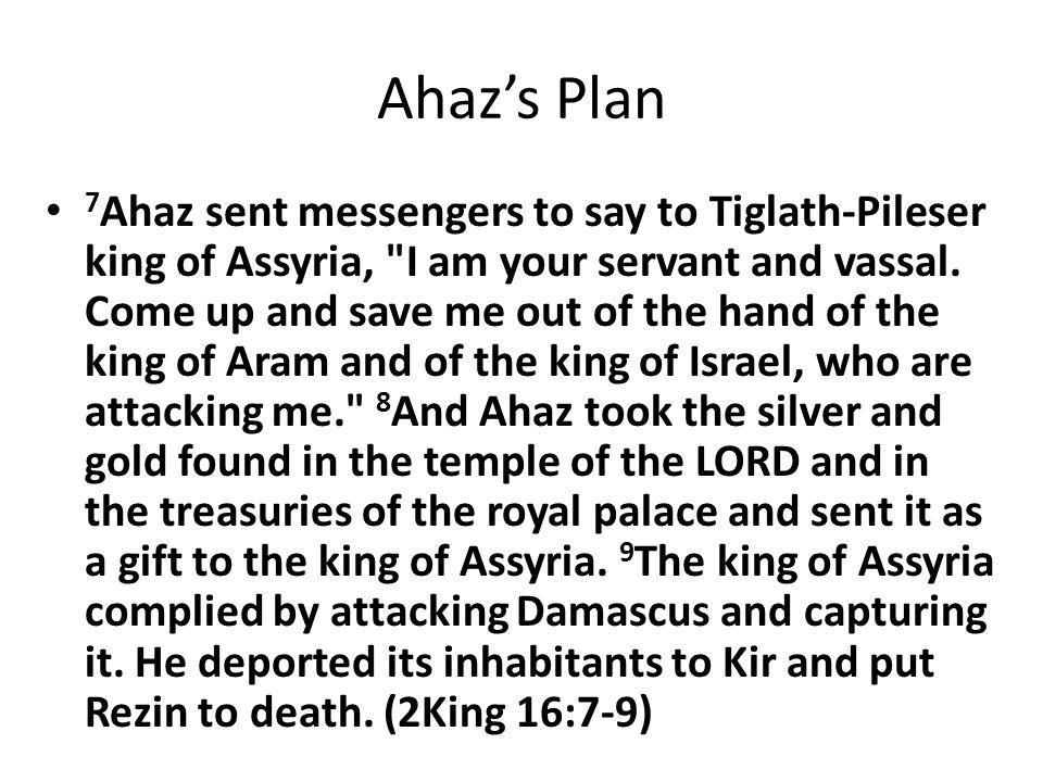 Ahaz's Plan