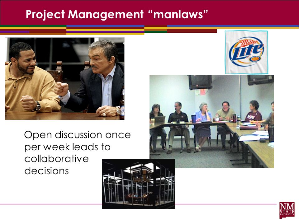 Project Management manlaws