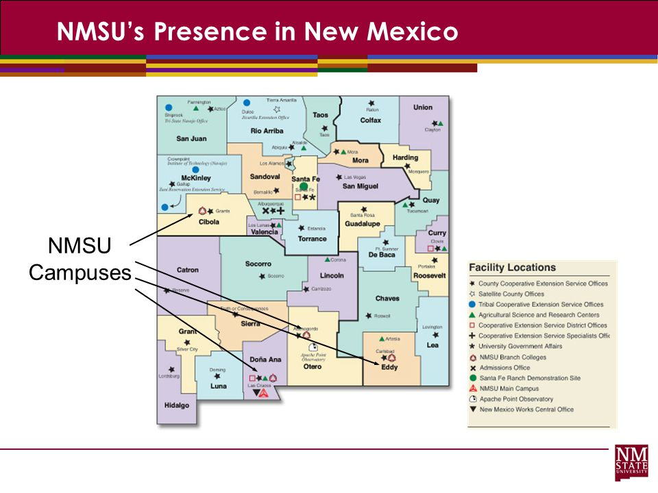 NMSU's Presence in New Mexico