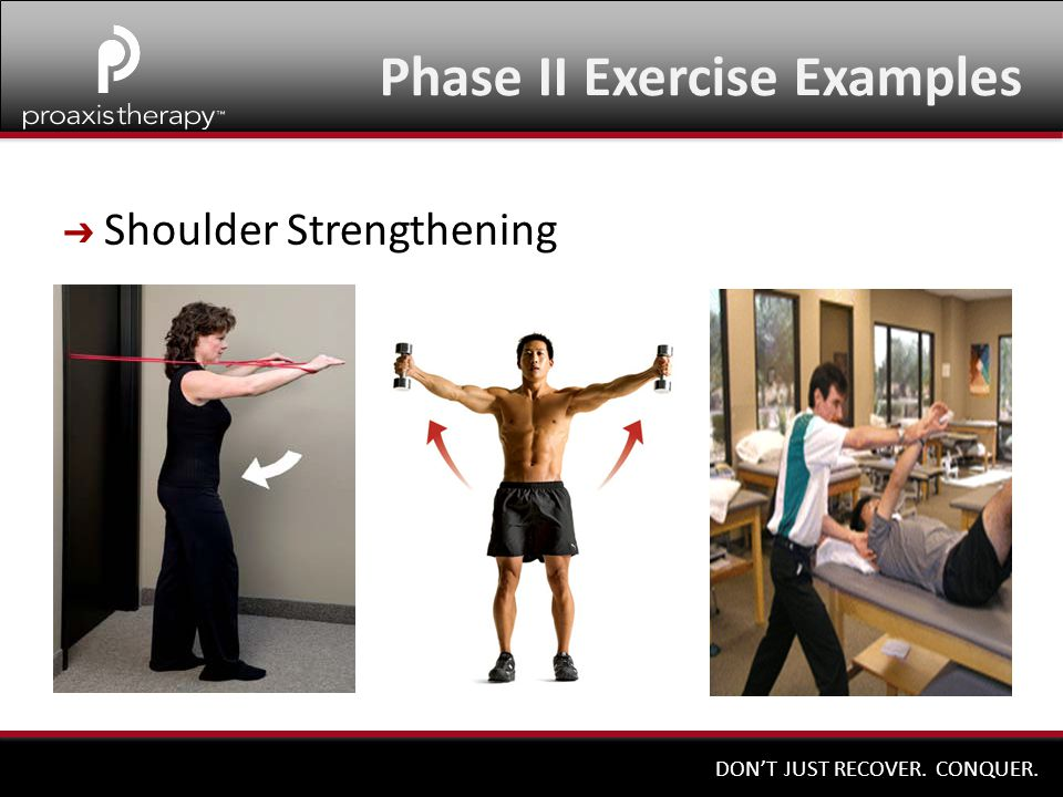 Phase II Exercise Examples