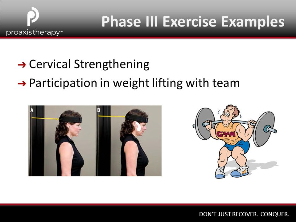 Phase III Exercise Examples