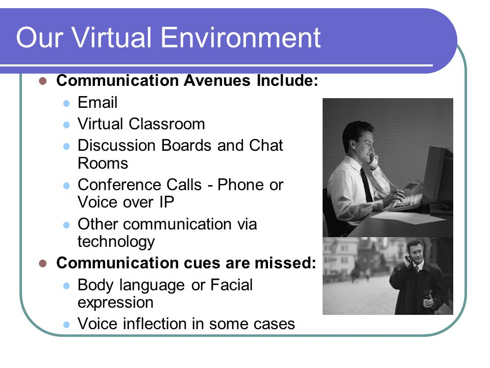 Our Virtual Environment