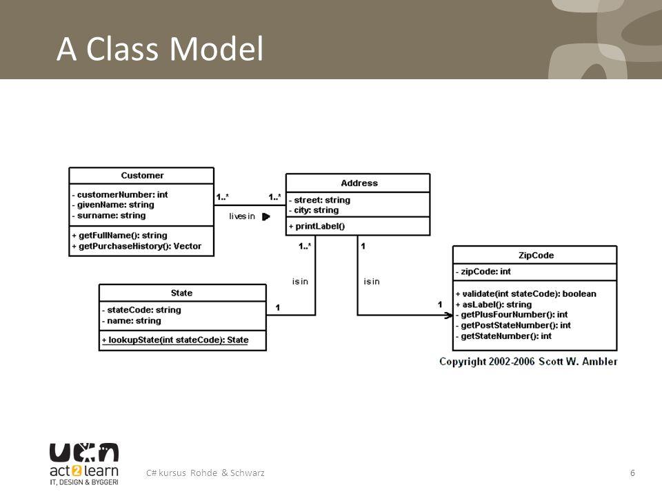 A Class Model