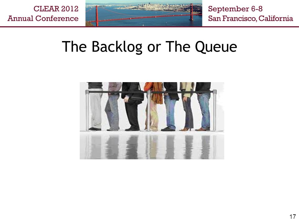 The Backlog or The Queue