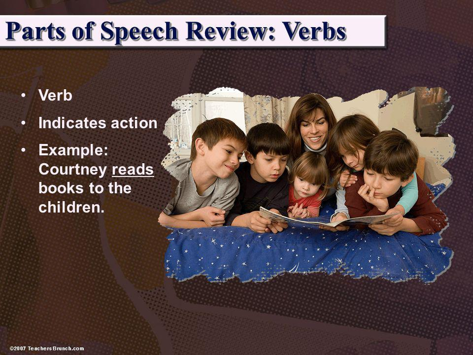 Parts of Speech Review: Verbs