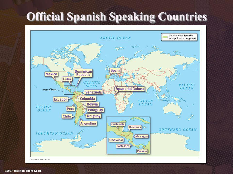 Official Spanish Speaking Countries