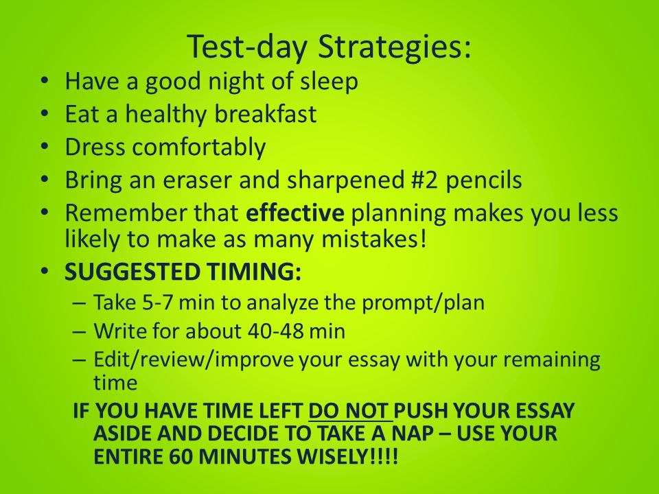 day and night essay writing Figure out what kind of essay you are writing (lens essay, research paper, etc) and check the writing center blog for templates for example, check out emily's post for tips on how to write a good lens essay.