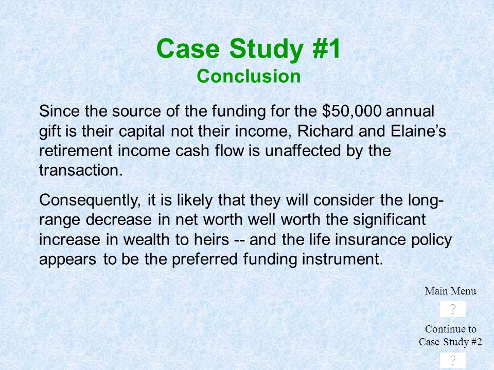 Case Study #1 Conclusion