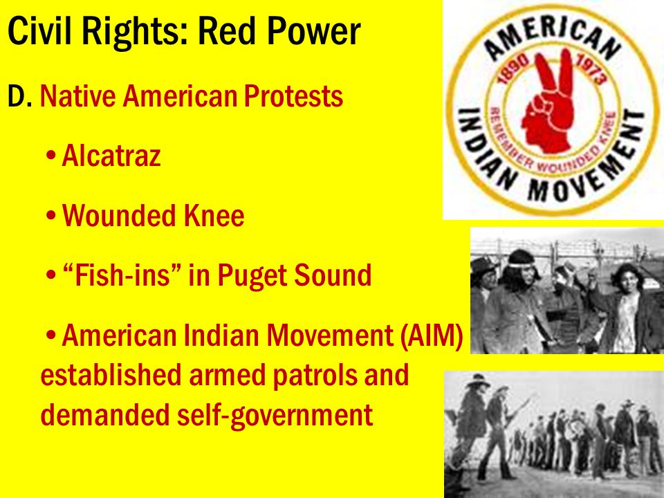 Civil Rights: Red Power