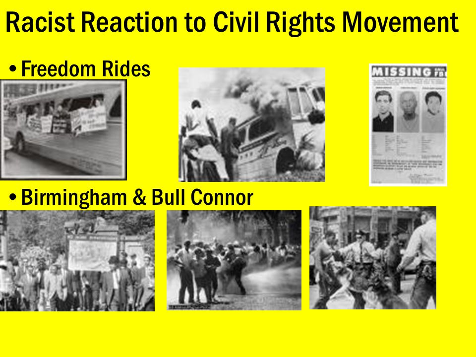 Racist Reaction to Civil Rights Movement