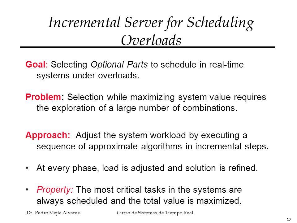 Incremental Server for Scheduling Overloads