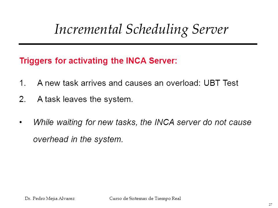 Incremental Scheduling Server