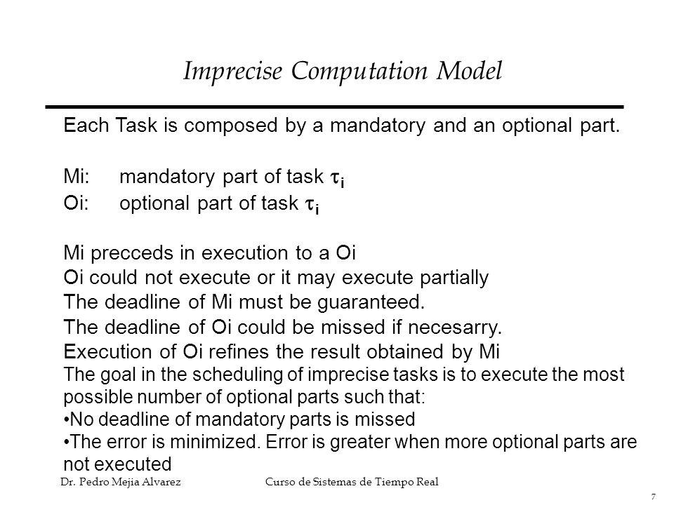 Imprecise Computation Model