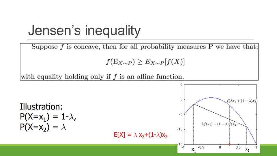 Jensen's inequality