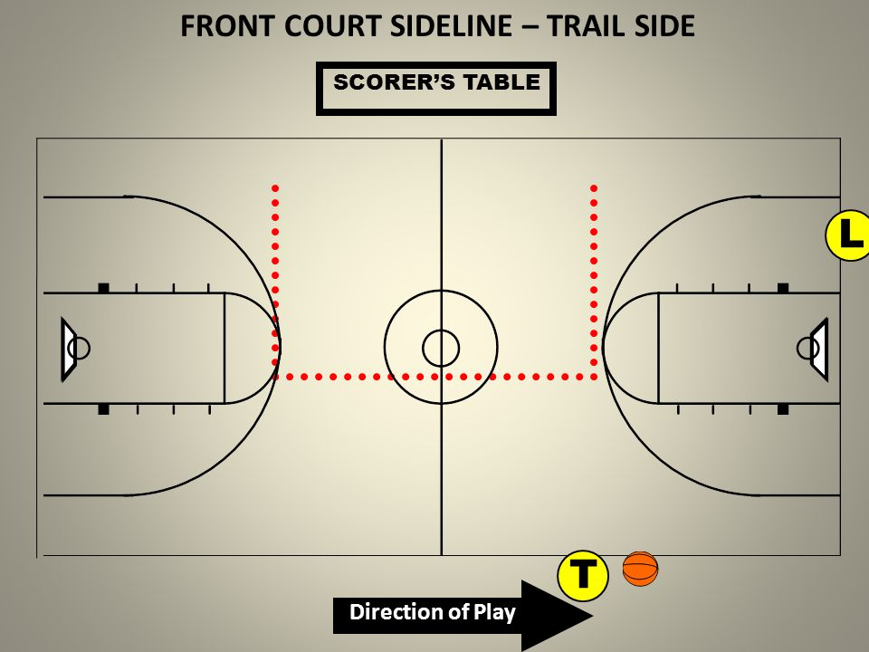 FRONT COURT SIDELINE – TRAIL SIDE