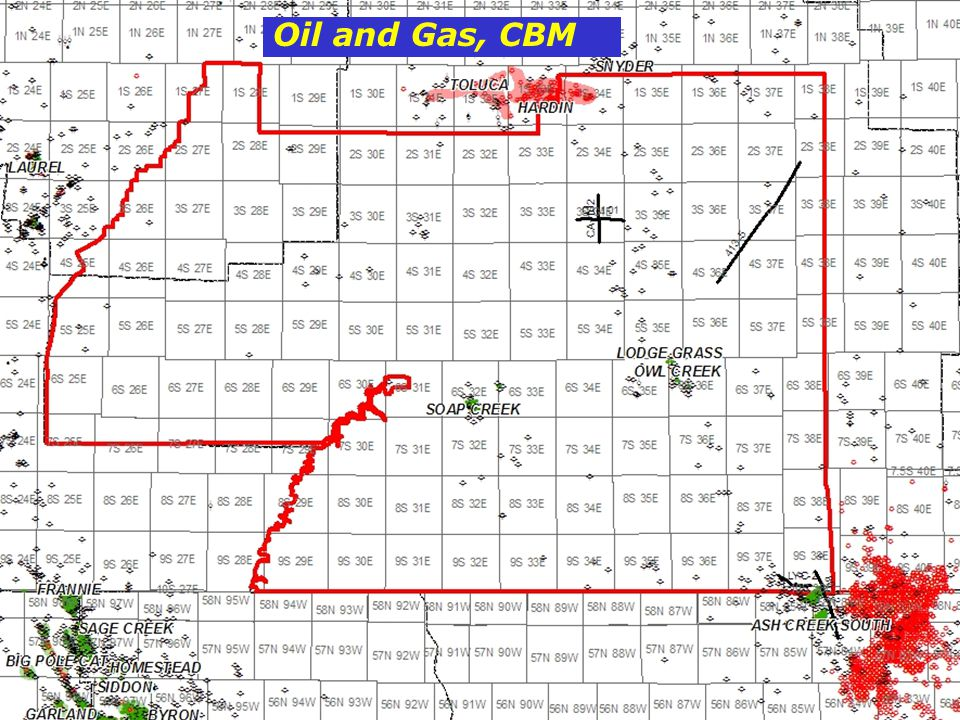 Oil and Gas, CBM