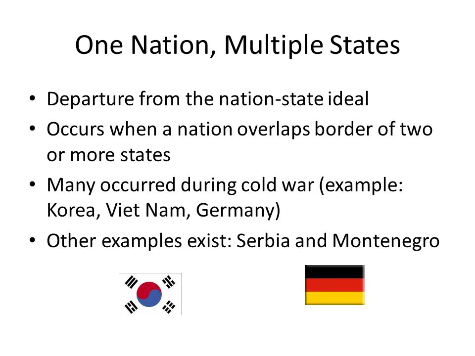 One Nation, Multiple States