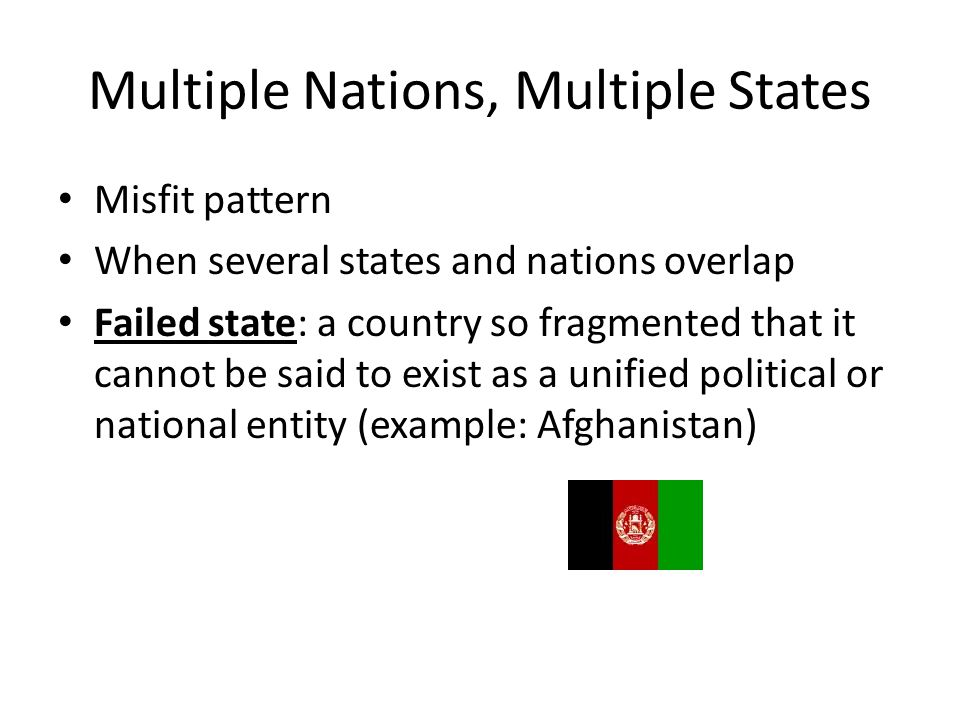 Multiple Nations, Multiple States