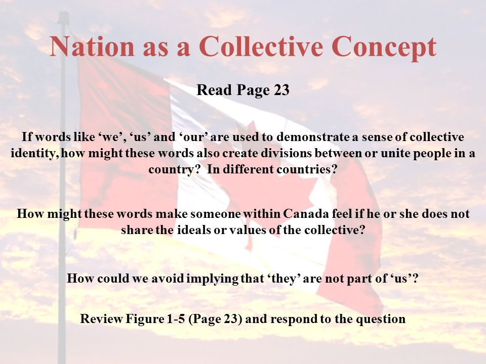 Nation as a Collective Concept