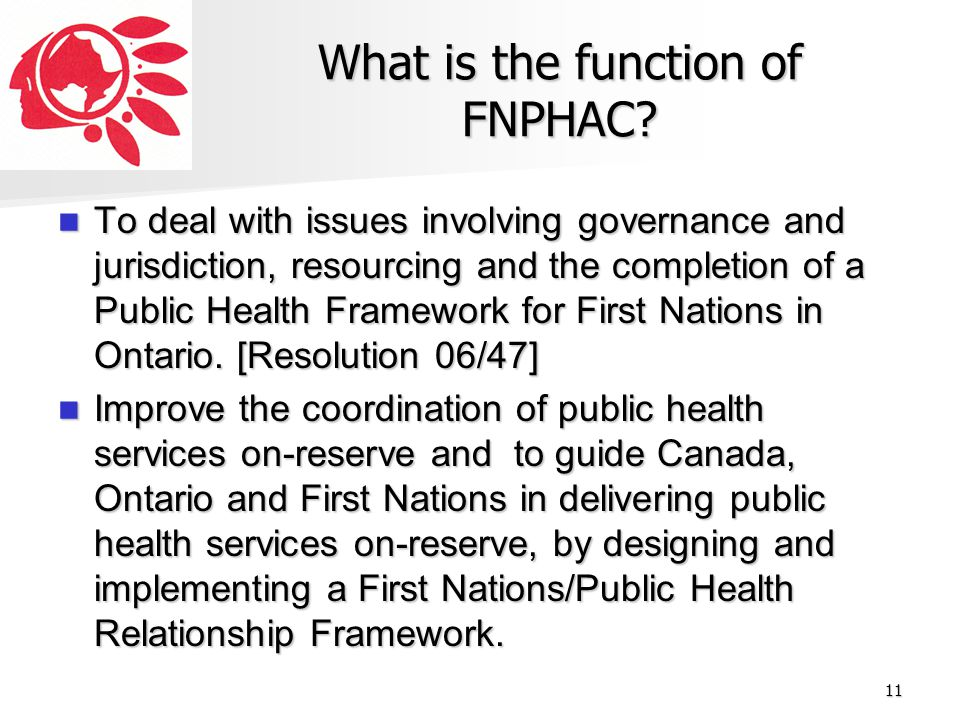 What is the function of FNPHAC