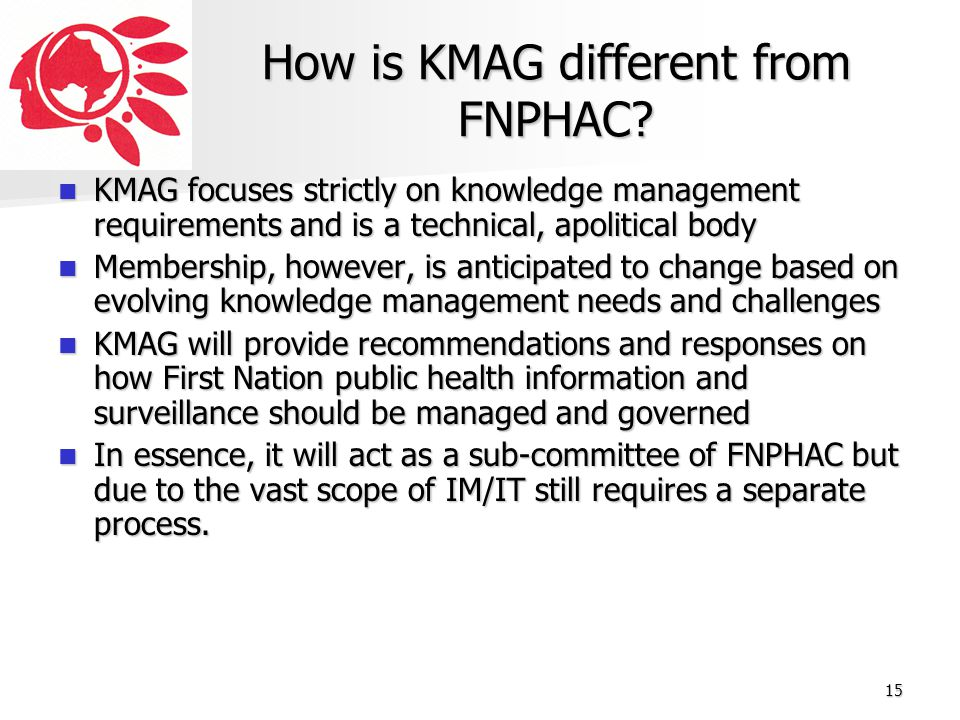How is KMAG different from FNPHAC