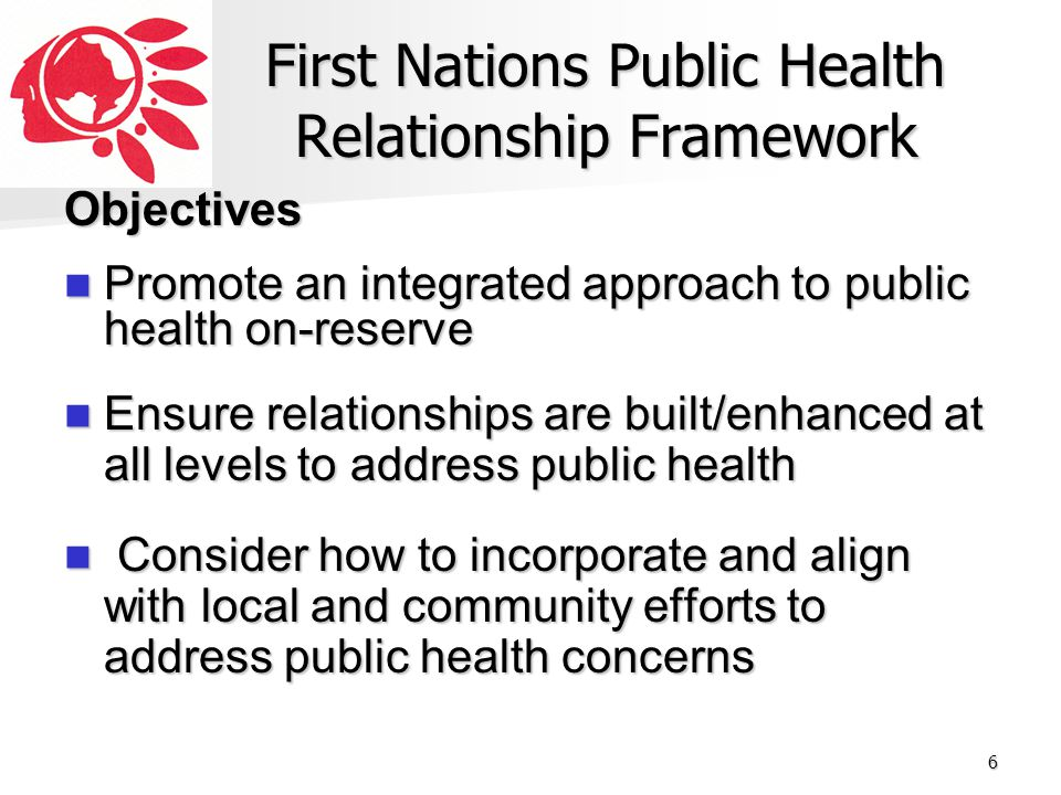 First Nations Public Health Relationship Framework