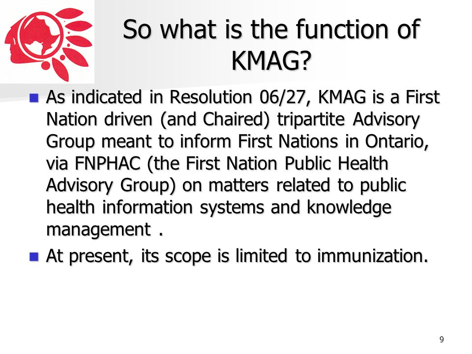 So what is the function of KMAG