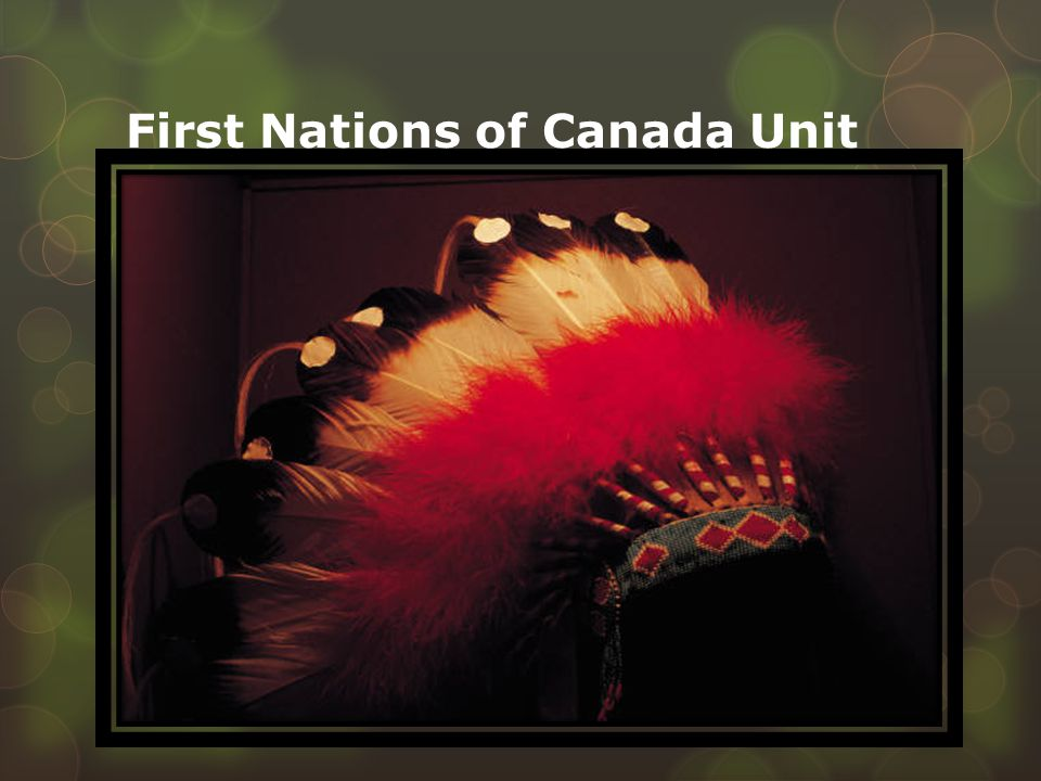 First Nations of Canada Unit