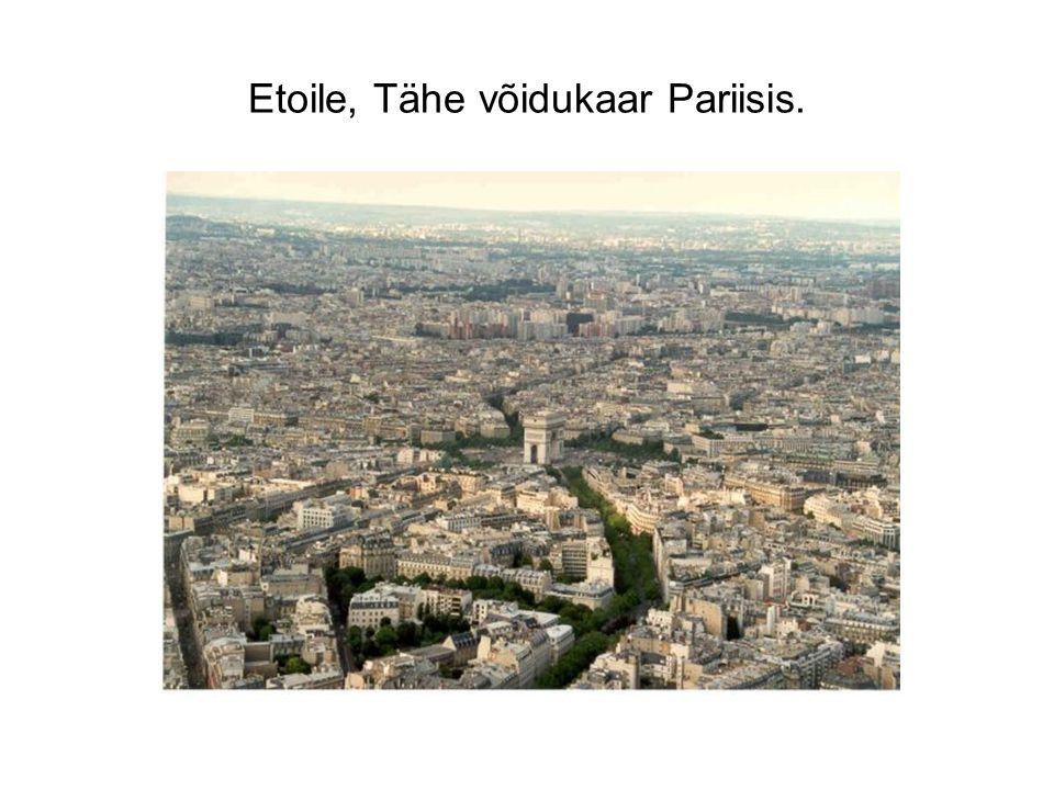 Etoile, Tähe võidukaar Pariisis.