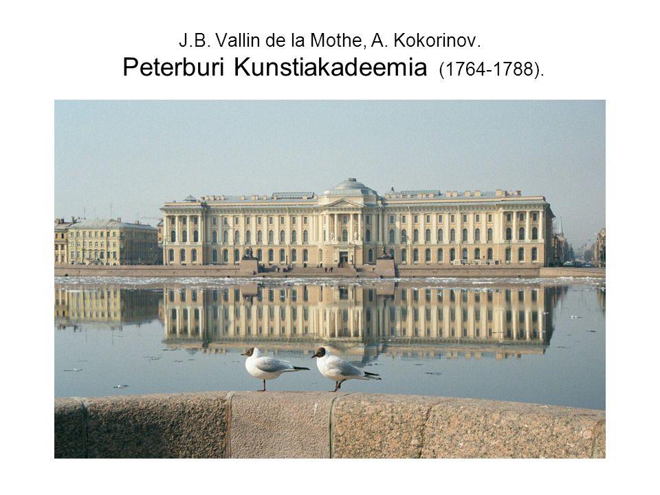 J. B. Vallin de la Mothe, A. Kokorinov