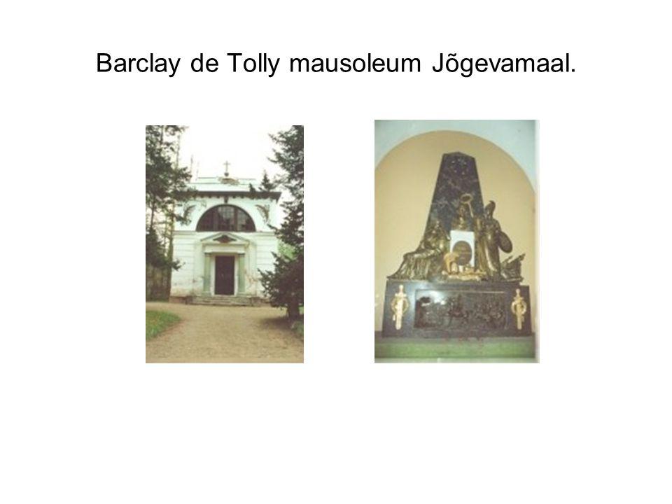 Barclay de Tolly mausoleum Jõgevamaal.