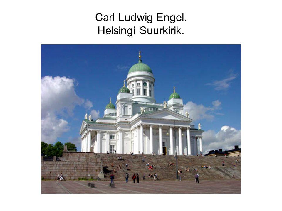 Carl Ludwig Engel. Helsingi Suurkirik.
