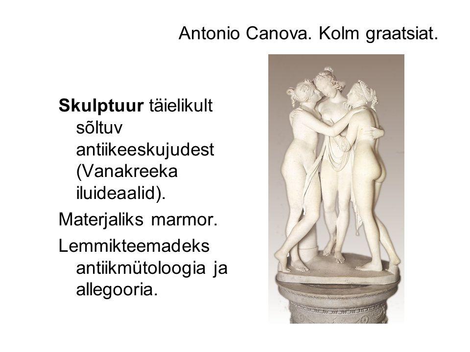 Antonio Canova. Kolm graatsiat.