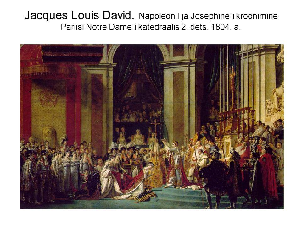 Jacques Louis David. Napoleon I ja Josephine´i kroonimine Pariisi Notre Dame´i katedraalis 2.
