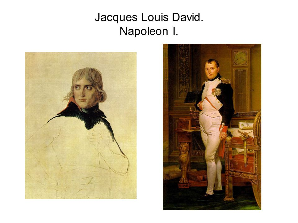 Jacques Louis David. Napoleon I.