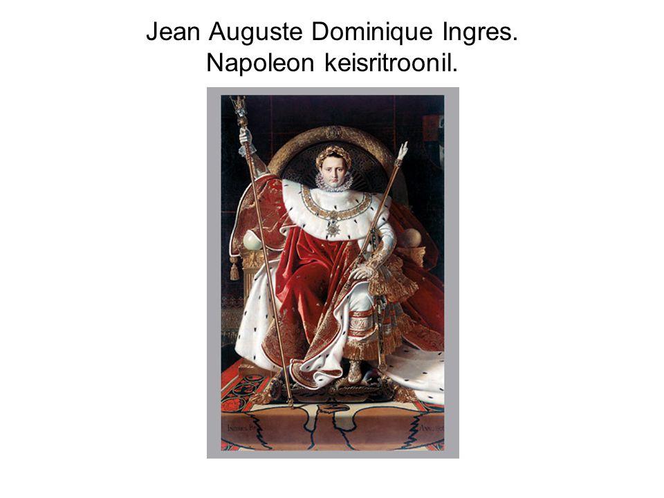 Jean Auguste Dominique Ingres. Napoleon keisritroonil.
