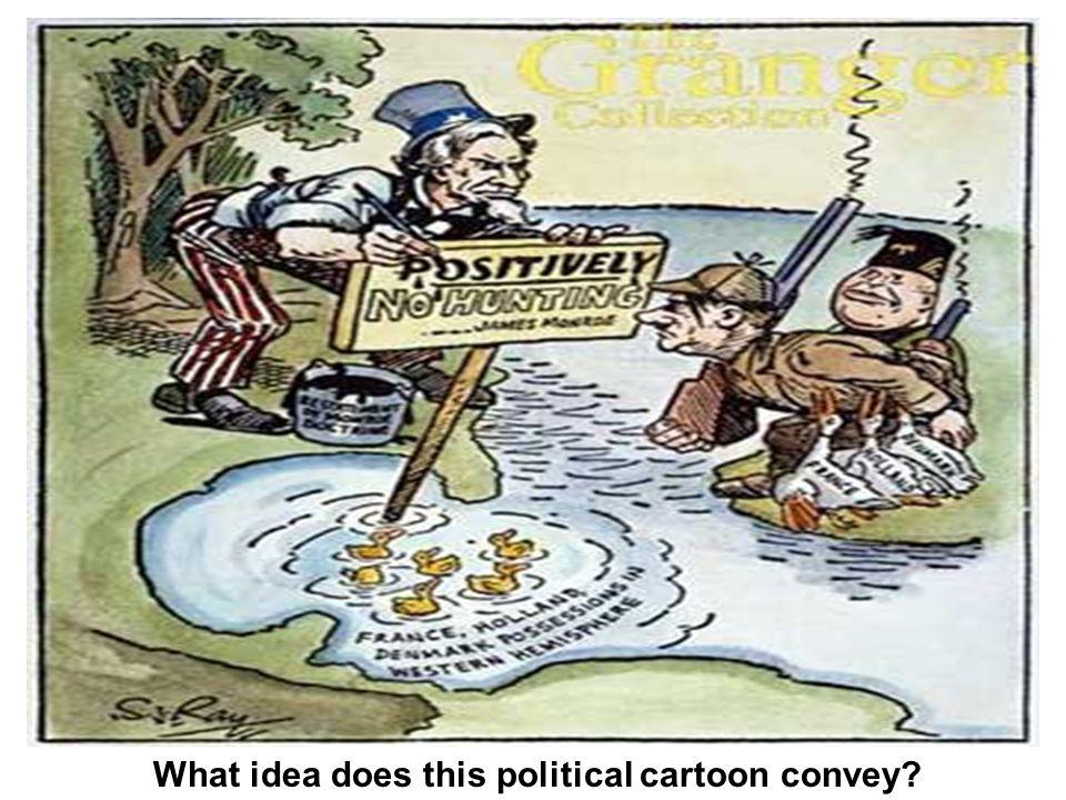 What idea does this political cartoon convey