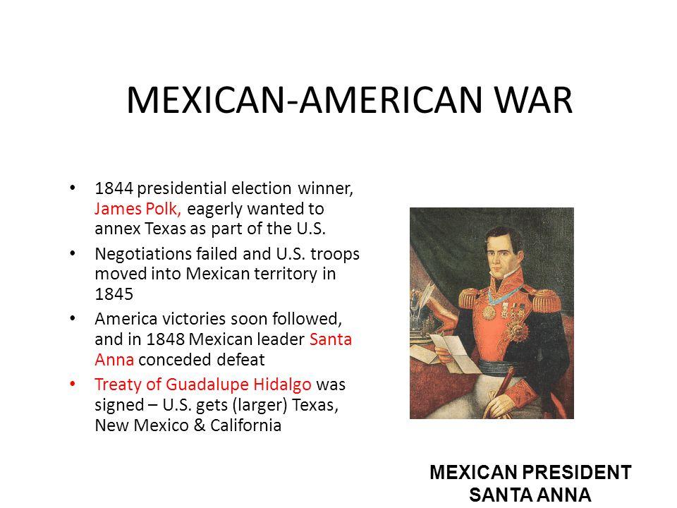 MEXICAN PRESIDENT SANTA ANNA