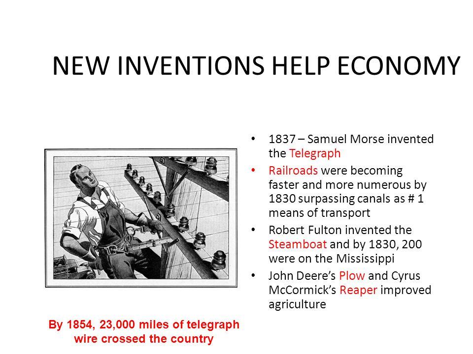 NEW INVENTIONS HELP ECONOMY
