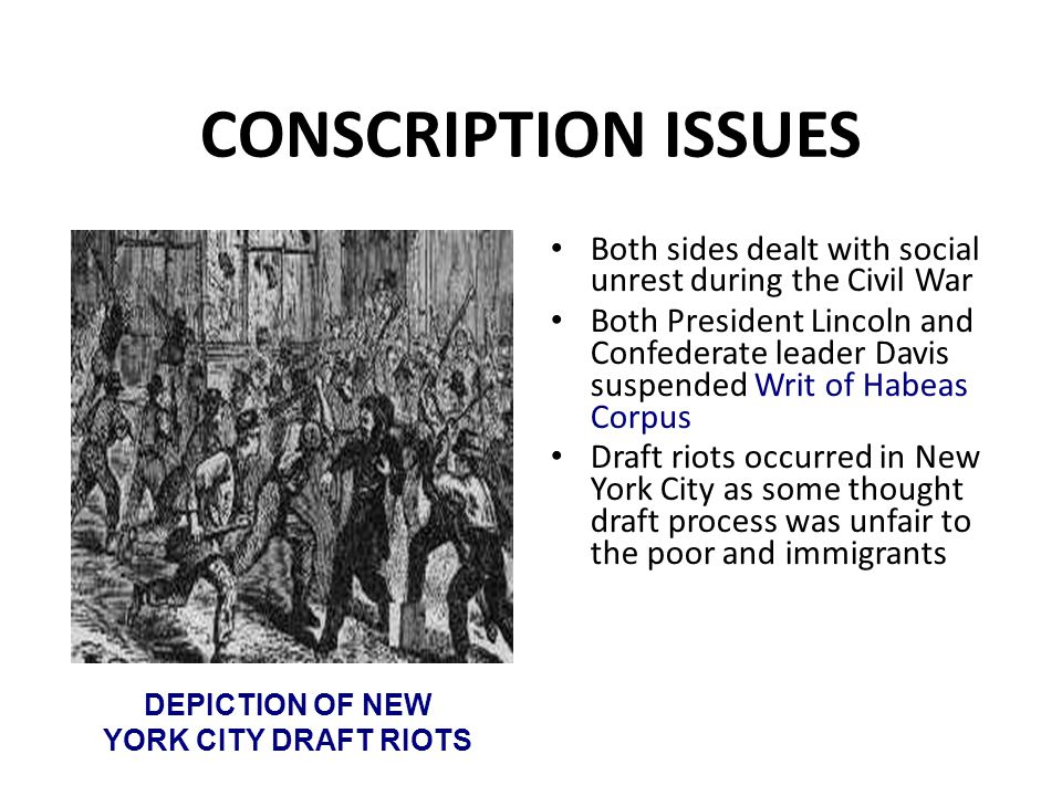 DEPICTION OF NEW YORK CITY DRAFT RIOTS